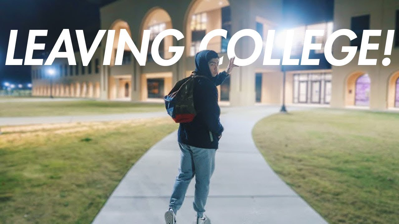 College leaving